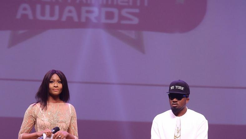Ice Prince and Osas Ighodaro hosts of the 10th edition of the Nigerian Entertainment Awards 2015