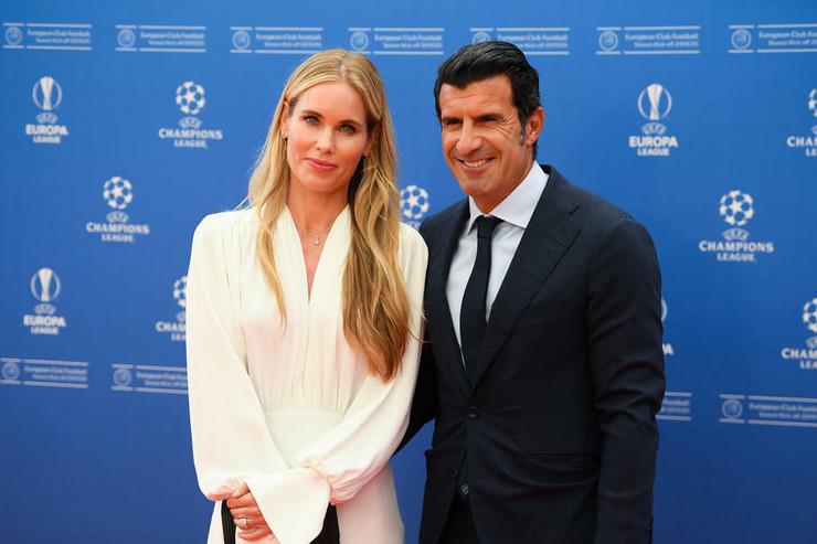 Luis Figo i supruga
