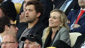 Euro 2012: Diane Kruger i Joshua Jackson oglądają finał