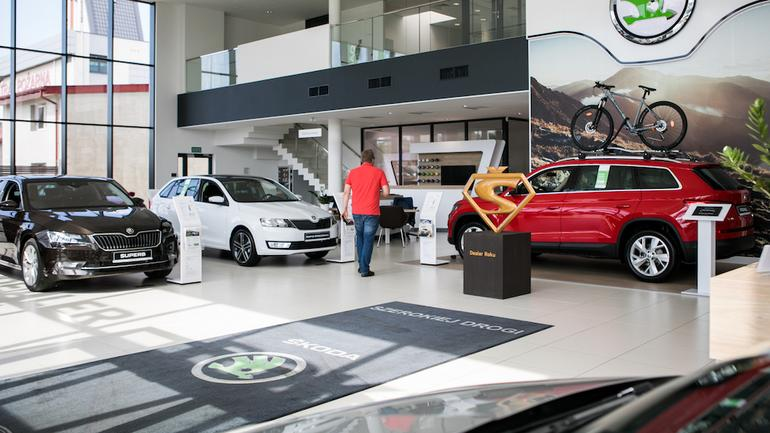 Sprzedaż aut – Skoda