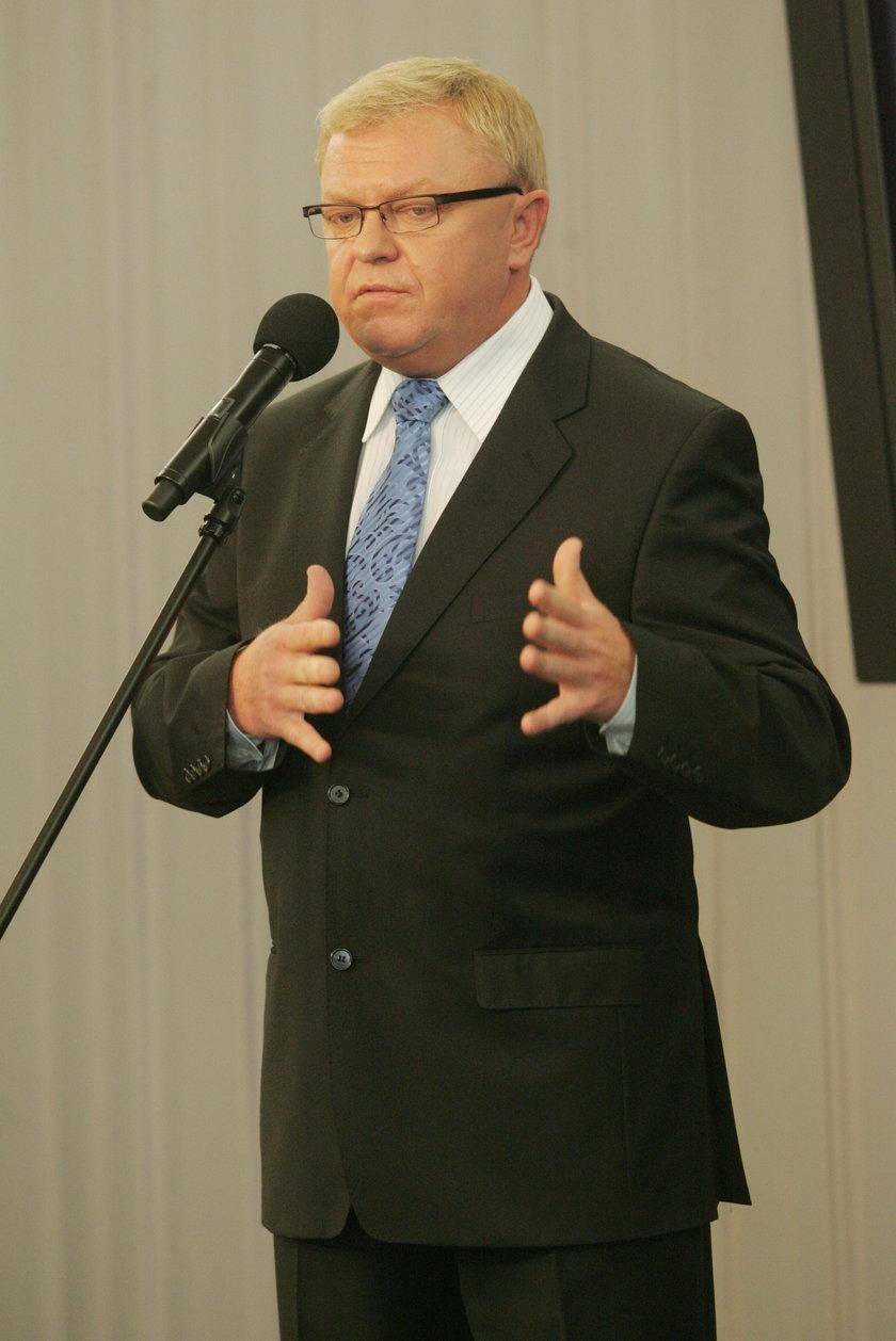 Zbigniew Chlebowski, były skompromitowany poseł PO