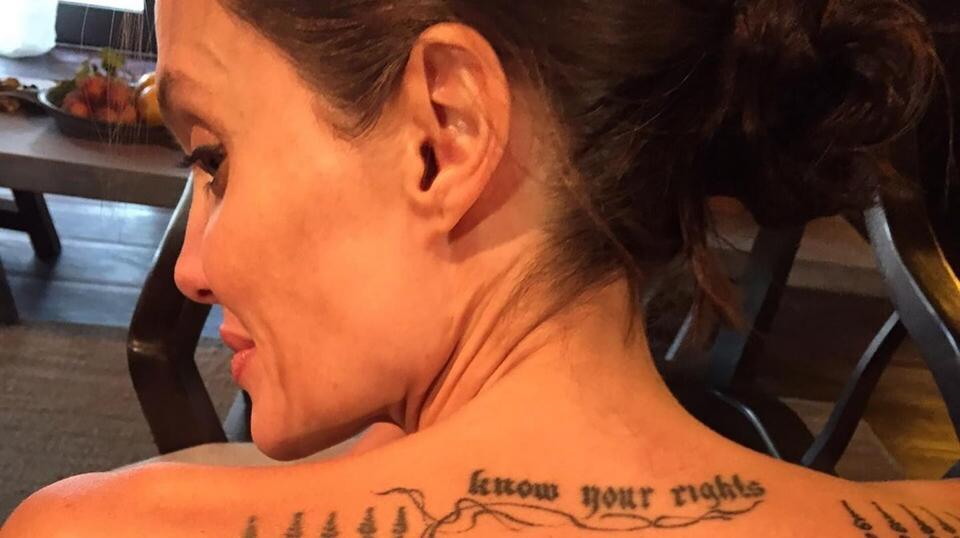 Tatuaże Angeliny Jolie Znaczenie