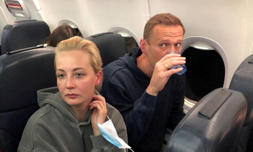 Żona Nawalnego opuściła Rosję