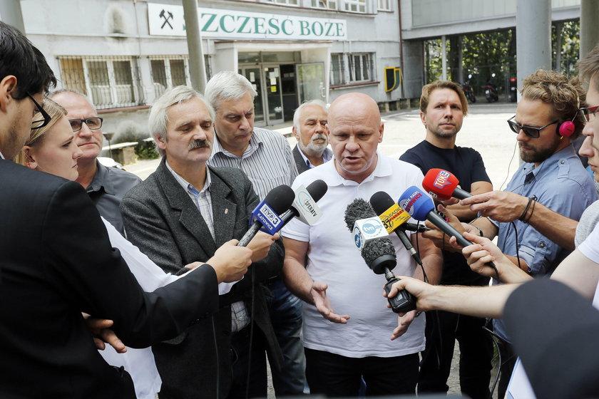 Konferencja ws. KWK Wujek Ruch Śląsk