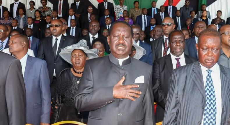 DP William Ruto's mother, Mama Sarah Cheruyoit, makes rare public appearance at Mzee Moi's funeral