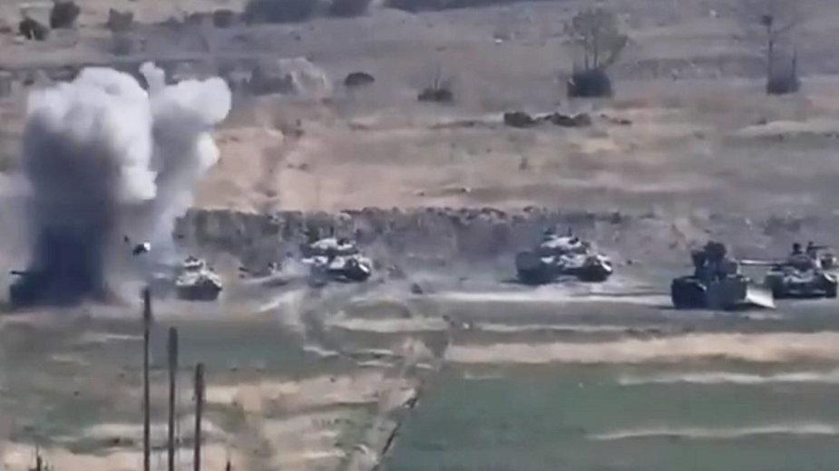 Nasiliły się walki w regionie Górskiego Karabachu
