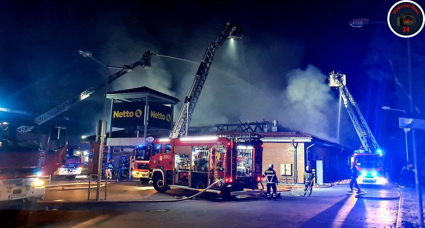 Pożar w Wawrze