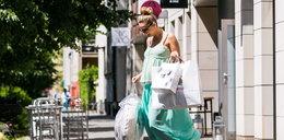 Małgorzata Socha kupuje rzeczy dla dziecka