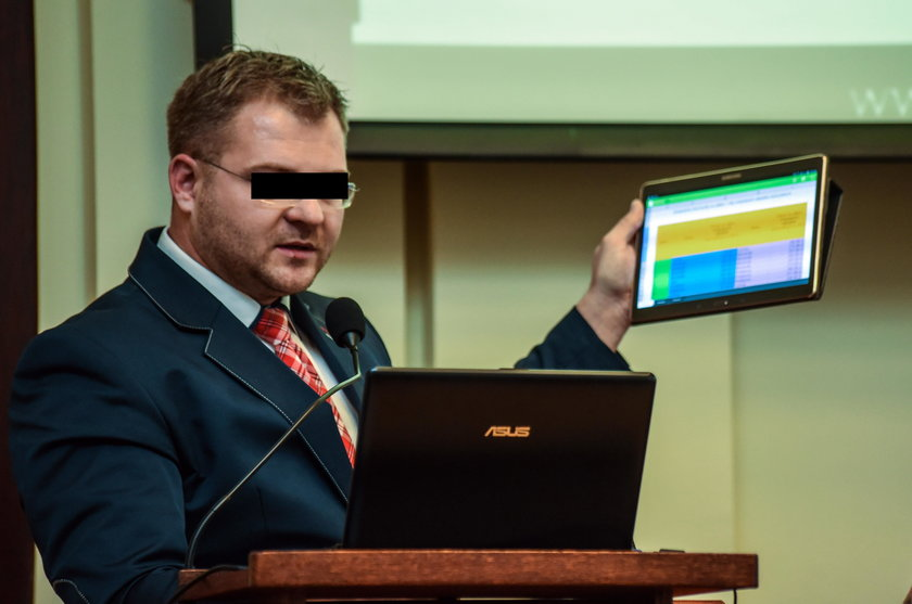 Rafał P.  - były radny PiS