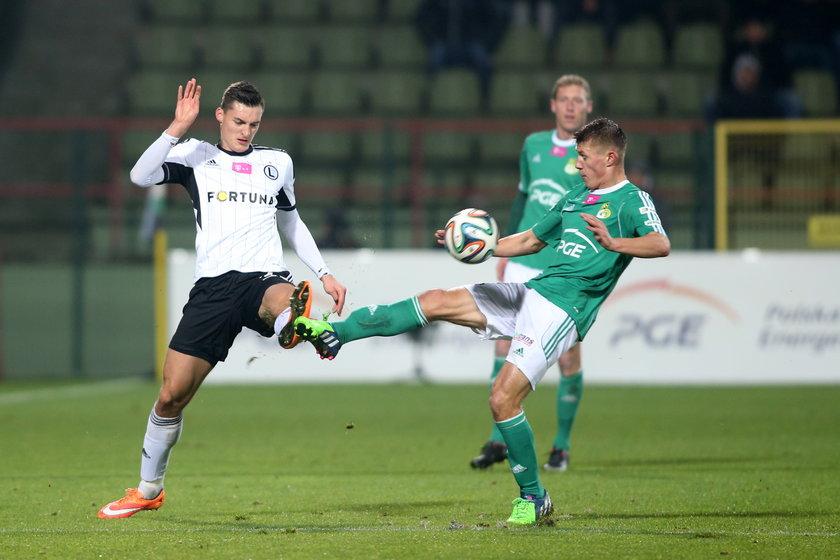 Ekstraklasa: GKS Bełchatów - Legia Warszawa