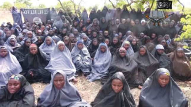 A cross section of the abducted Chibok girls. (Premiumtimes)