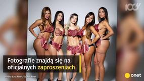 Nietypowy protest kandydatek na Miss Pośladków
