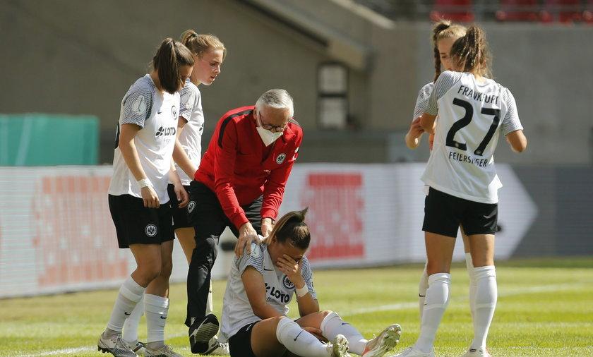 Women's DFB Cup Final - Eintracht Frankfurt v Wolfsburg