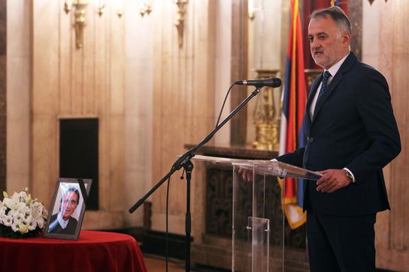 Od Lazara Grozdanovića se oprostio prvi čovek OSS-a Zoran Gajić