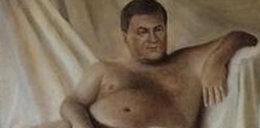 Nagi Janukowycz! Zdjęcia