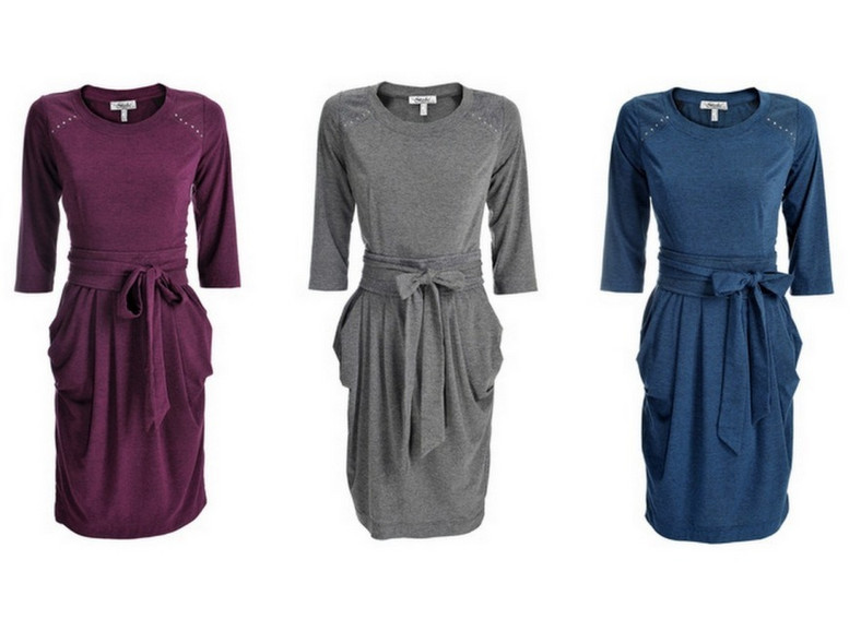 Sukienki z rękawem z kolekcji Stabo zima 2012/2013