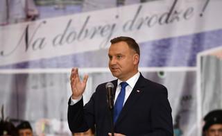 Prezydent Duda o wypowiedziach prezes Gersdorf: Po prostu wstyd