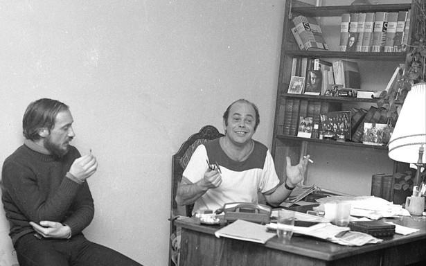 KOR Antoni Macierewicz i Jacek Kuroń
