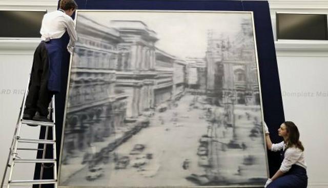 """Slika """"Trg Duomo u Milanu"""" Gerharda Rihtera prodata je za 37 miliona dolara"""