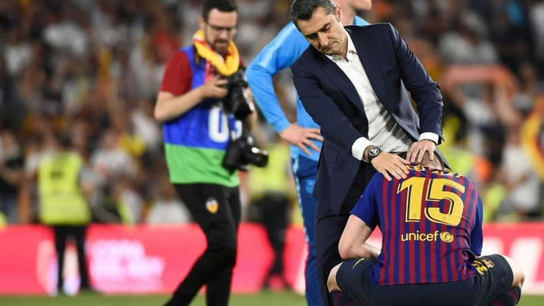 Barcelona coach Ernesto Valverde has been backed by president Josep Maria Bartomeu