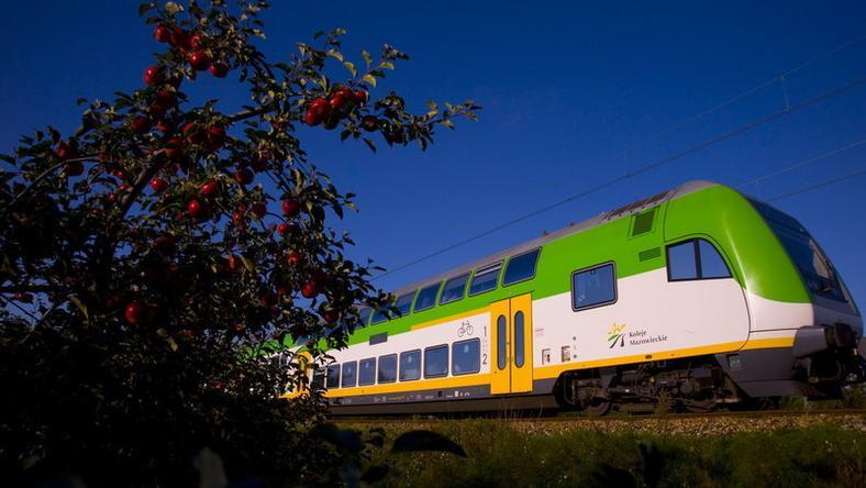 Wspólny Bilet Samorządowy obowiązuje m.in. w pociągach Kolei Mazowieckich