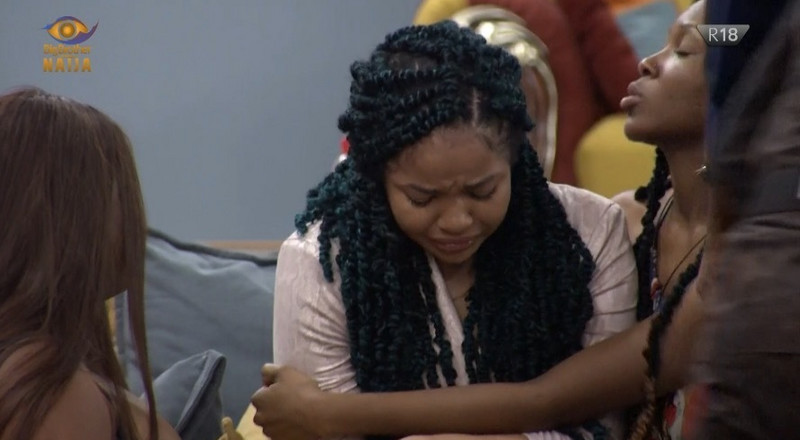 Nengi uncontrollably weeps over Ozo's eviction from BBN 2020 (WATCH)