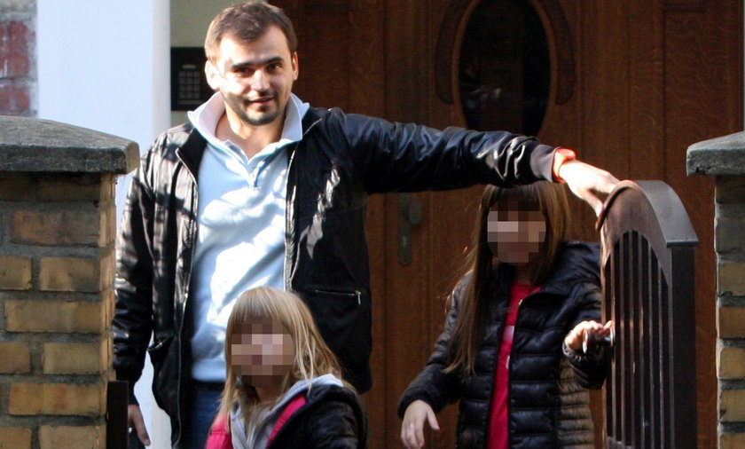 Marcin Dubieniecki odwiedził dzieci