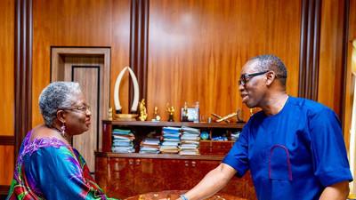 Gov Okowa congratulates new WTO boss Okonjo-Iweala