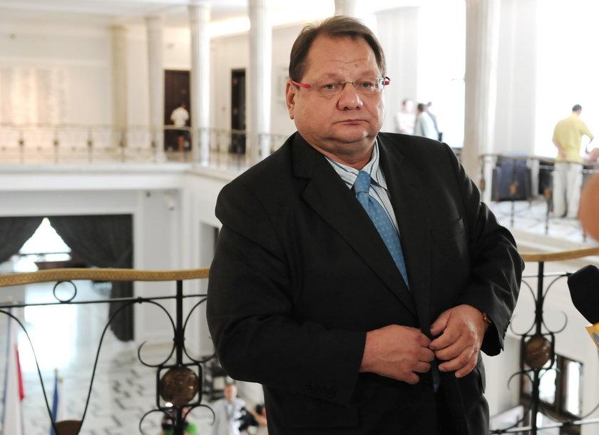 Ryszard Kalisz, posełniezrzeszony były szef kancelarii prezydenta Aleksandra Kwaśniewskiego