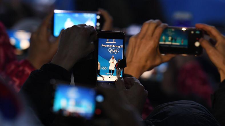 Kibice na igrzyskach olimpijskich w Pjongczangu
