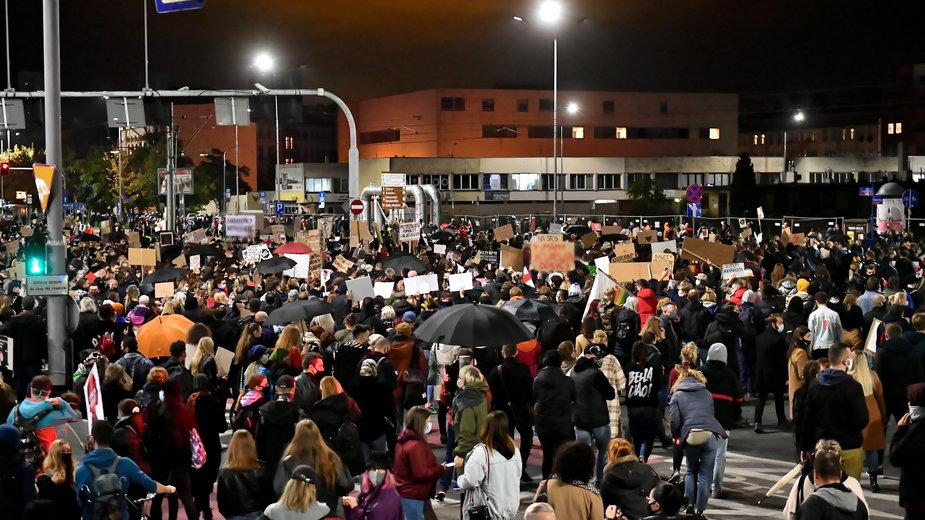 Protest po decyzji TK