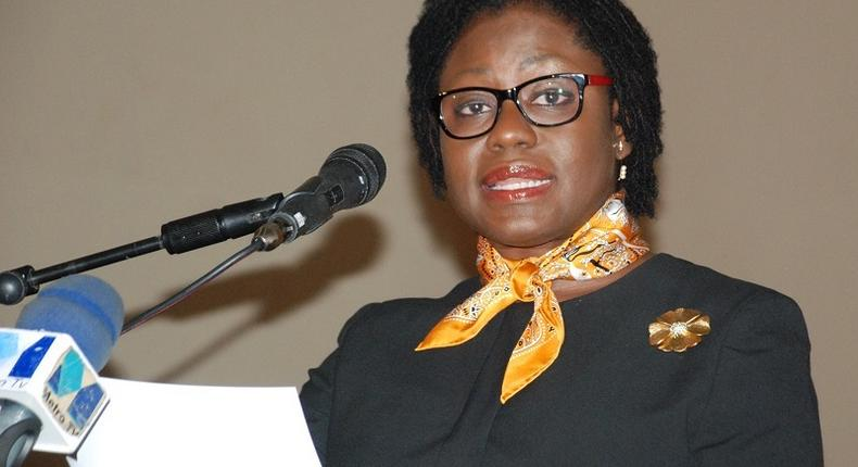 The Second Deputy Governor of the Bank of Ghana, Elsie Addo Awadzi