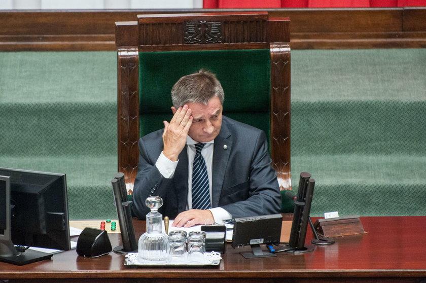Tyle zarabiał Marek Kuchciński jako marszałek Sejmu