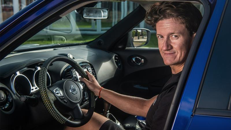 Do badań nowej powłoki posłużył Nissan Juke. W testach wziął udział kierowca Nissana - Lucas Ordonez.