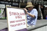 Štrajk glađu ispred Agencije za restituciju