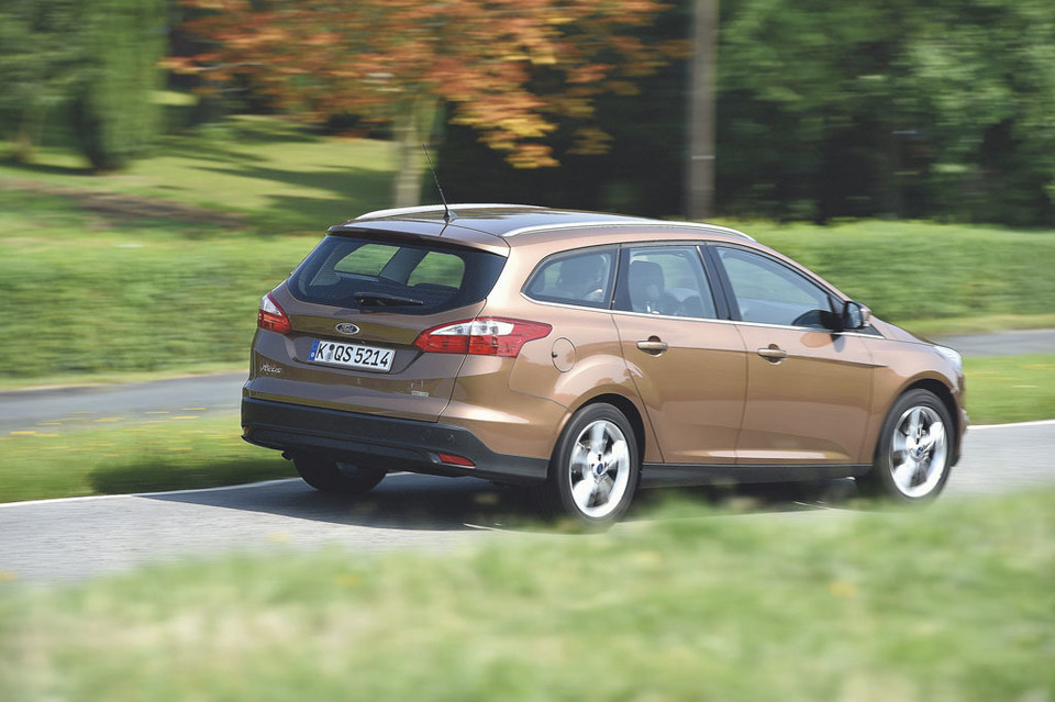 Ford Focus - miejsce 4