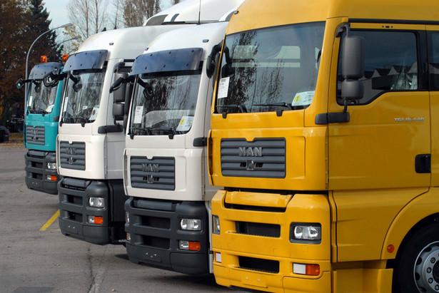 Samochody ciężarowe firmy MAN, fot. Guido Krzikowski/Bloomberg News