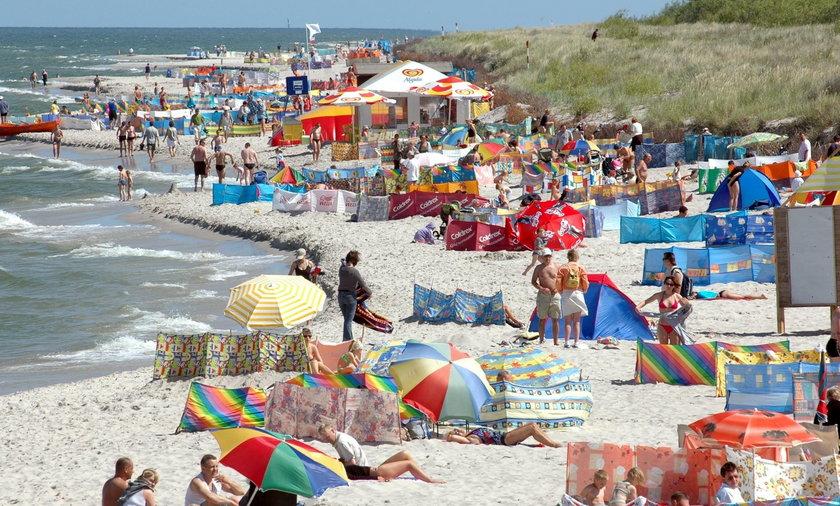 32-letni mieszkaniec woj. dolnośląskiego utonął podczas kąpieli w morzu
