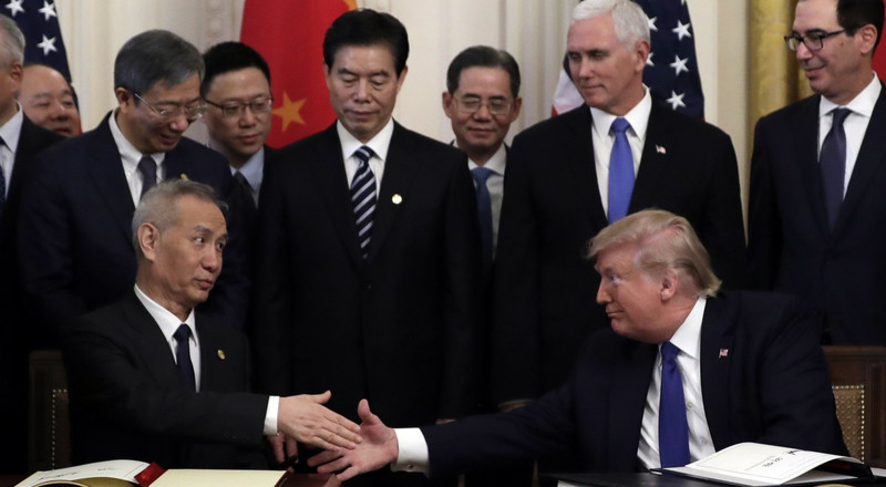 A quick guide to what Trump's 94-page trade deal with China included — and left out