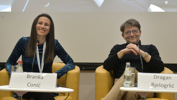 Branka Conić i Dragan Bjelogrlić na Kopaonik biznis forumu