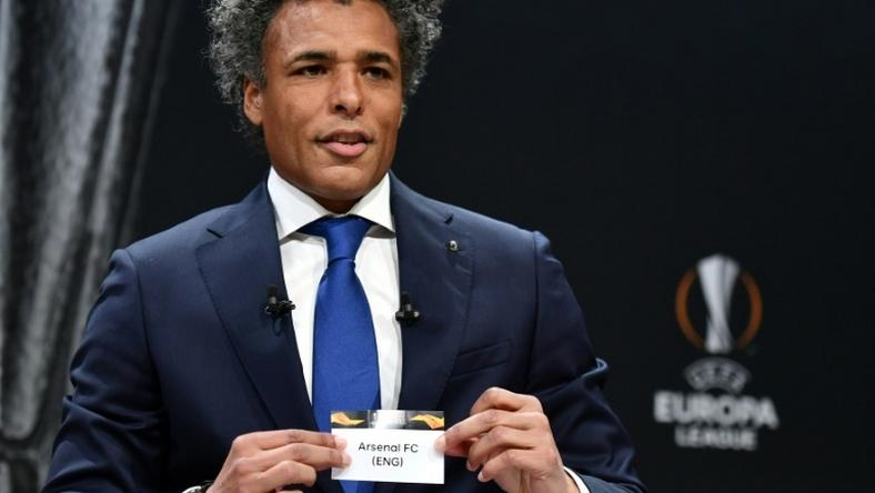 UEFA Europa league ambassador and former Netherlands striker, Pierre van Hooijdonk, pulled Arsenal's name out of the hat in Friday's draw