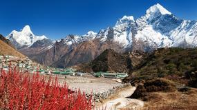 Wieś, w której można zobaczyć skalp yeti