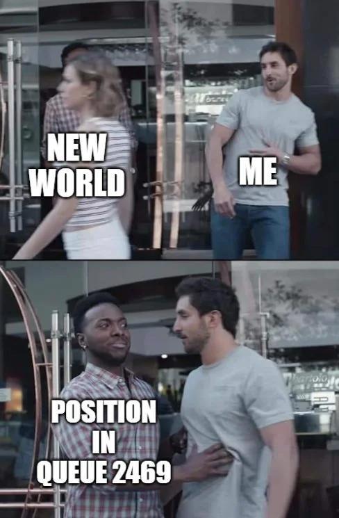New World očaril mnoho ľudí. Väčšina sa za ním aspoň poobzrela. Nekonečné rady ale zastavili každého.