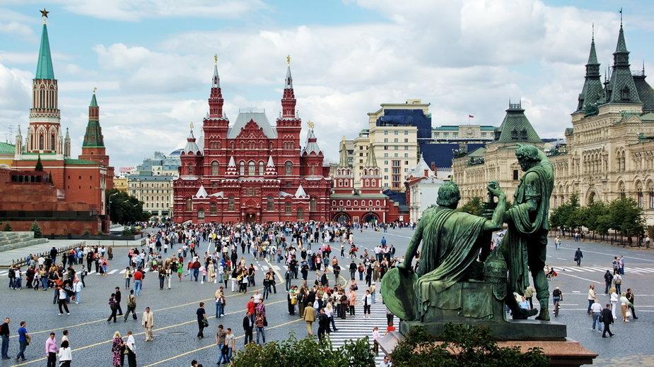 Plac Czerwony w Moskwie (zdjęcie ilustracyjne)