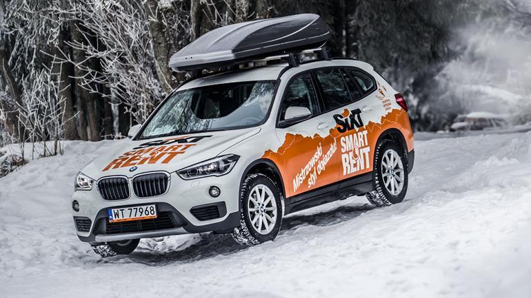 BMW X1 w Zakopanem
