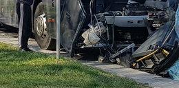 Groźny wypadek autobusu z dziećmi. Jechały na zieloną szkołę