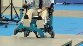 Zrobotyzowany fotel inwalidzki