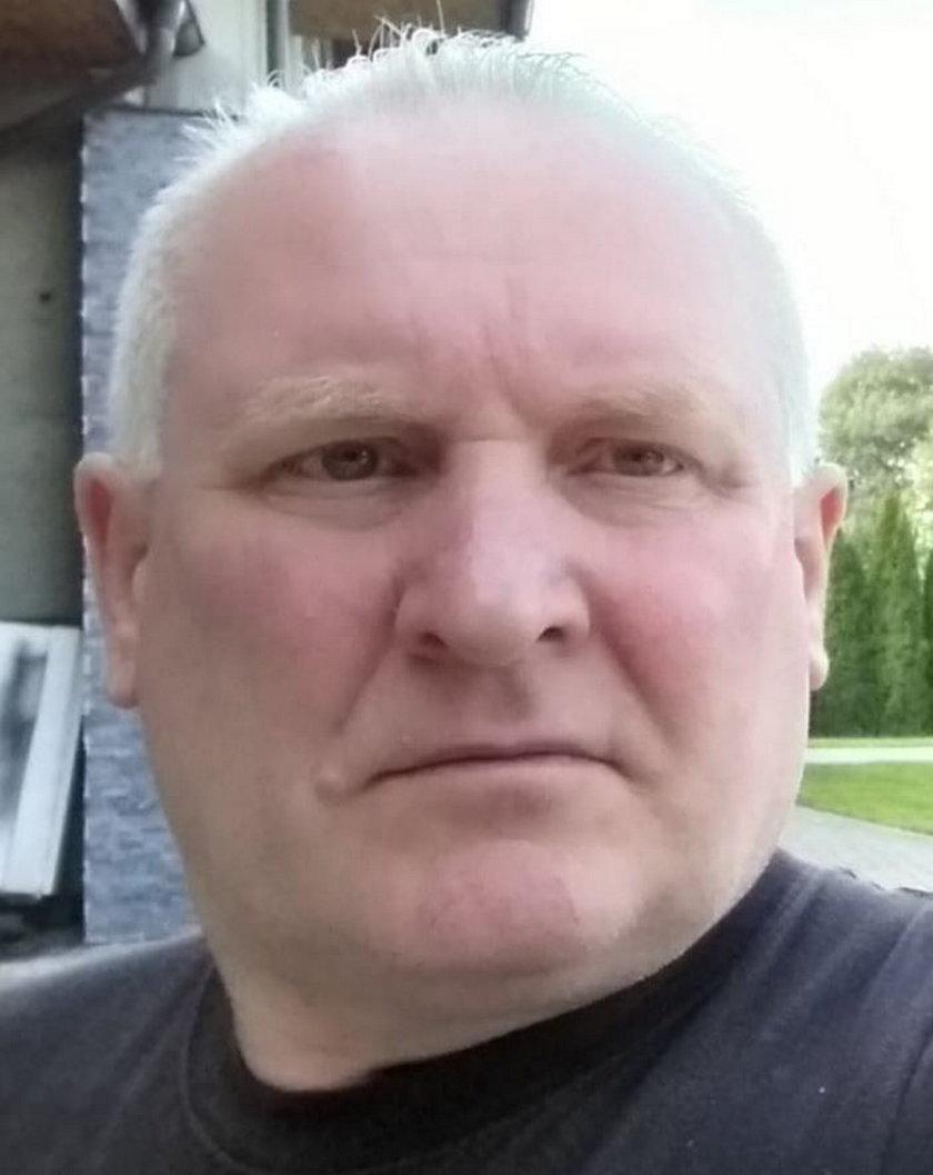 Poszukiwany przez policję Jacek Jaworek (52 l.)