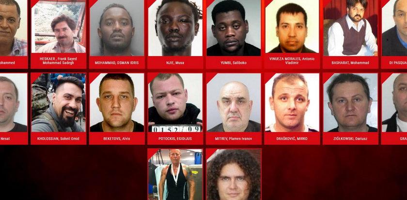 Najgroźniejsi przestępcy seksualni w Europie. Jest i Polak