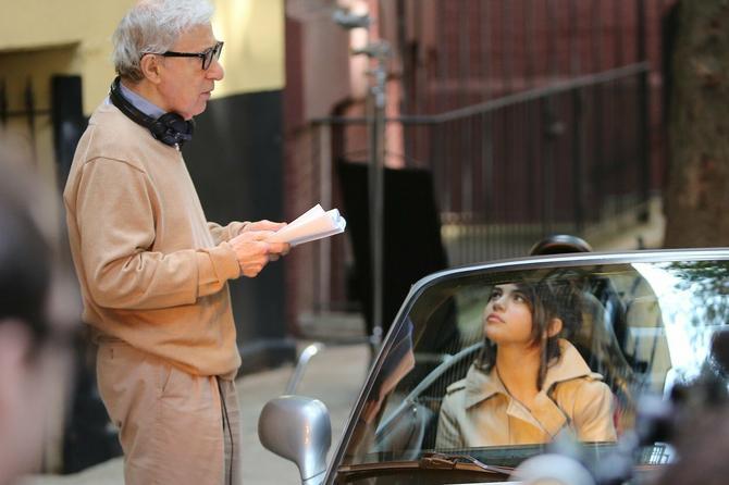 Selena Gomez i Vudi Alen ovih dana u Njujorku snimaju film
